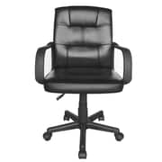 Urban Shop Leather Executive Chair