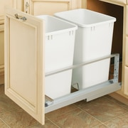 Rev-A-Shelf 8.75 Gallon Pull-Out Waste Container (Set of 2)
