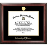Campus Images NCAA Gold Embossed Diploma Picture Frame; Delaware Blue Hens