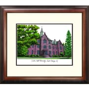 Campus Images Alumnus Lithograph Framed Photographic Print; Seton Hall Pirates