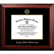 Campus Images NCAA Gold Embossed Diploma Picture Frame; Angelo State Rams
