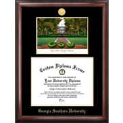 Campus Images NCAA Georgia Southern Gold Embossed Diploma w/Campus Images Lithograph Picture Frame