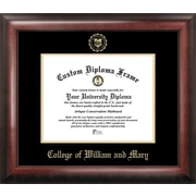 Campus Images NCAA College of William and Mary Gold Embossed Diploma Picture Frame