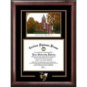 Campus Images NCAA Georgia Tech Yellow Jackets Spirit Graduate with Campus Image Picture Frame