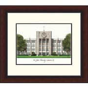 Campus Images NCAA Alumnus Legacy Lithograph Picture Frame; St. Johns Red Storm