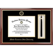 Campus Images NCAA Tassel Box and Diploma Picture Frame; Mid. Tenn. St. Blue Raiders