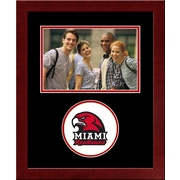 Campus Images NCAA Spirit Picture Frame; Miami University Redhawks