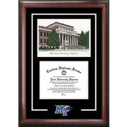Campus Images NCAA Spirit Graduate with Campus Image Picture Frame; Mid. Tenn. St. Blue Raiders