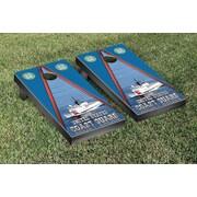 Victory Tailgate NCAA US Coast Guard Cutter Version Cornhole Game Set