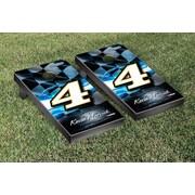 Victory Tailgate NASCAR Kevin Harvick #4 Busch Night Lights Version Cornhole Game Set
