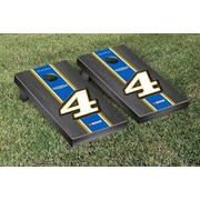 Victory Tailgate NASCAR Kevin Harvick #4 Busch Onyx Stained Stripe Version Cornhole Game Set