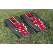 Victory Tailgate NASCAR Kevin Harvick #4 Jimmy Johns Onyx Stained Stripe Version Cornhole Game Set