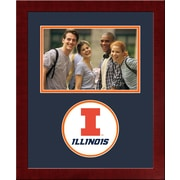 Campus Images NCAA Spirit Picture Frame; Illinois Fighting Illini