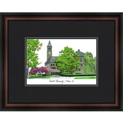 Campus Images Academic Lithograph Picture Frame; Cornell Big Red