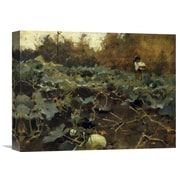 Global Gallery 'Pumpkins 1878-80' by John Singer Sargent Painting Print on Wrapped Canvas