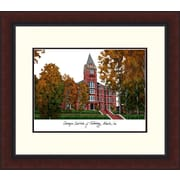 Campus Images Legacy Alumnus Lithograph Picture Frame; Georgia Tech Yellow Jackets