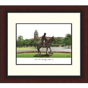 Campus Images Legacy Alumnus Lithograph Picture Frame; Texas Tech Red Raiders