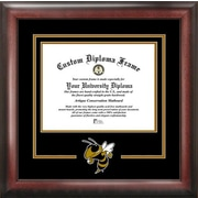 Campus Images NCAA Spirit Diploma Picture Frame; Georgia Tech Yellow Jackets