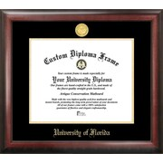 Campus Images NCAA University of Florida Gold Embossed Diploma Picture Frame
