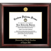Campus Images NCAA University of North Carolina, Chapel Hill Gold Embossed Diploma Picture Frame