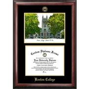 Campus Images NCAA Boston College Gold Embossed Diploma w/ Campus Images Lithograph Picture Frame