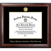 Campus Images NCAA Virginia Tech Gold Embossed Diploma Picture Frame