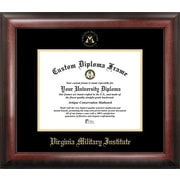 Campus Images NCAA Virginia Military Institute Gold Embossed Diploma Picture Frame