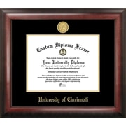 Campus Images NCAA Gold Embossed Diploma Picture Frame; Cincinnati Bearcats