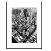 3 Panel Photo Wood Mounted Skyline Manhattan Framed Photographic Print