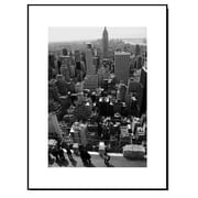 Elementem Photography Wood Mounted New York City Empire State Building Framed Photographic Print