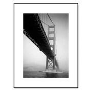 3 Panel Photo Wood Mounted Golden Gate Bridge Framed Photographic Print