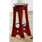 Progressive Furniture Zen 30'' Bar Stool; Red