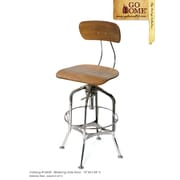 Hip Vintage Watering Hole Adjustable Height Swivel Bar Stool
