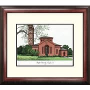 Campus Images Alumnus Lithograph Framed Photographic Print; Hampton University Pirates