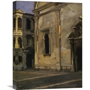 Global Gallery 'Campo dei Gesuiti, 1902-04' by John Singer Sargent Painting Print on Wrapped Canvas
