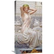 Global Gallery 'Silver' by Albert Joseph Moore Painting Print on Wrapped Canvas