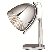 Elegant Lighting Industrial 17'' H Table Lamp with Bowl Shade