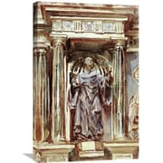 Global Gallery 'In a Church at Granada' by John Singer Sargent Painting Print on Wrapped Canvas