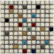 EliteTile Essentia 12'' x 12'' Porcelain Mosaic Tile in Cascade