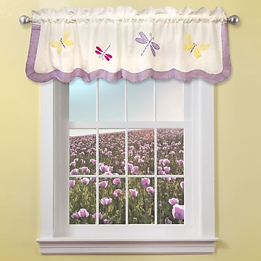My World Dragonfly Butterfly 70'' Curtain Valance