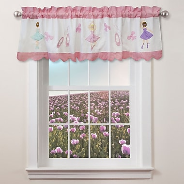 My World Ballet Lessons 70'' Curtain Valance