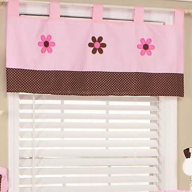 Pam Grace Creations Pam's Petals 39'' Curtain Valance