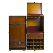 Authentic Models Grand Club Trunk Bar Cabinet