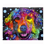 Picture it on Canvas 'Golden Retriever Colorful Animals' Graphic Art