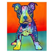 Picture it on Canvas 'Puppy Colorful Animals' Graphic Art