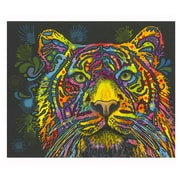 Picture it on Canvas 'Tiger Colorful Animals' Graphic Art