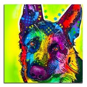 Picture it on Canvas 'Colorful German Shepherd' Graphic Art