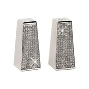 Creative Gifts International Glitter Galore 2 Piece Salt and Pepper Shaker Set