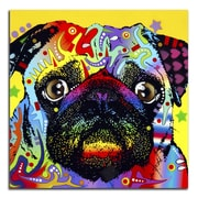 Picture it on Canvas 'Colorful Pug' Graphic Art