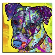 Picture it on Canvas 'Colorful Terrier' Graphic Art